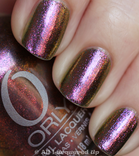 orly space cadet swatch from the orly cosmic fx collection for fall 2010