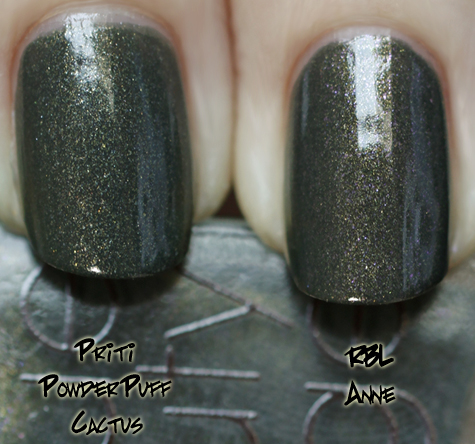 rbl anne priti powder puff cactus Rescue Beauty Lounge Fall 2010 Comparisons