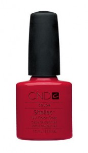 cnd shellac wildfire 173x300 Get The Nail Look   Rihanna in the I Love The Way You Lie Video