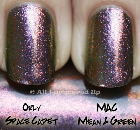 mac-mean-green-orly-space-cadet-comparison-swatch