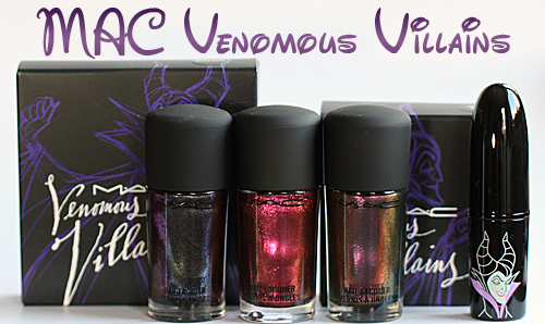 mac venomous villains disney fall 2010 MAC Venomous Villains Bad Fairy, Formidable and Mean & Green Swatches, Review & Comparisons