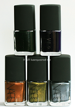 nars vintage nail polish 2010 zulu NARS Vintage Nail Polish Collection 2010 Swatches, Review & Comparisons