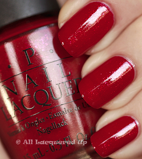 opi alis big break swatch burlesque holiday 2010 OPI Burlesque Collection for Holiday 2010 Swatches, Review & Comparisons