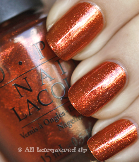 opi take the stage swatch burlesque holiday 2010 OPI Burlesque Collection for Holiday 2010 Swatches, Review & Comparisons