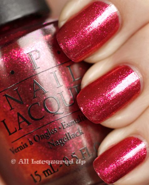 opi the show must go on swatch burlesque holiday 2010 OPI Burlesque Collection for Holiday 2010 Swatches, Review & Comparisons