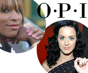 OPI KATY PERRY SERENA WILLIAMS NAIL POLISH And The Collaborations Continue   OPI with Serena Williams & Katy Perry