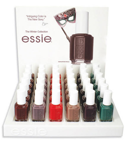 essie winter 2010 display Essie Winter 2010   A Winters Tale Collection Preview