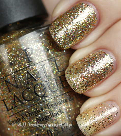 opi bring on the bling swatch burlesque holiday 2010 glitter OPI Holiday 2010 Burlesque Collection Glitter Swatches & Review