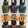 OPI Holiday 2010 Burlesque Collection Glitter Swatches & Review
