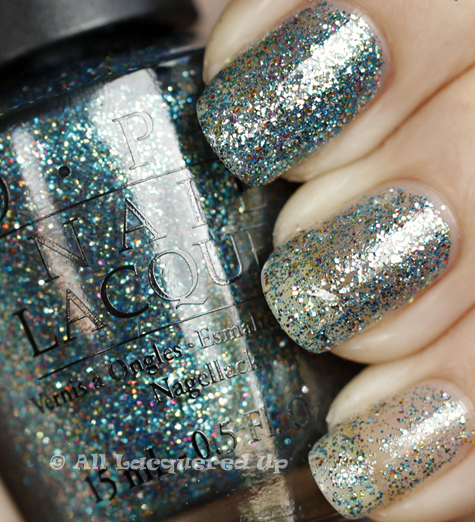 opi shimmer simmer swatch burlesque holiday 2010 glitter OPI Holiday 2010 Burlesque Collection Glitter Swatches & Review