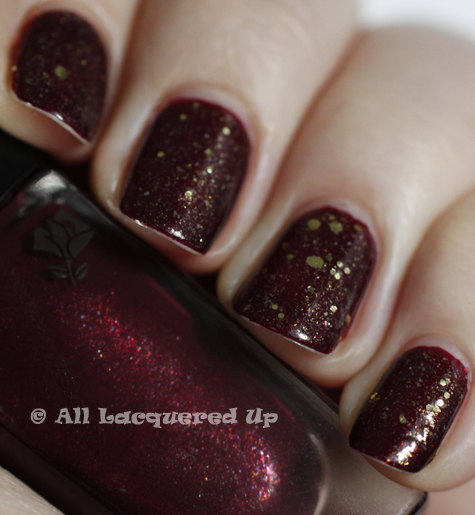 lippmann boom boom pow lancome les rouge lwren wear A Manicure So Tough, Not Even NYC Can Wear It Down