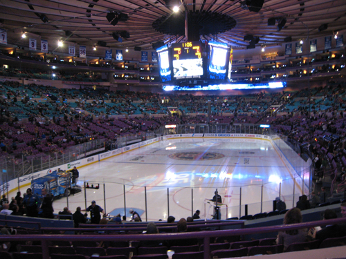 madison square garden rangers blackhawks A Manicure So Tough, Not Even NYC Can Wear It Down