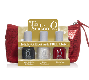 orly tis the season holiday gift set clutch 2010 Orly Tis The Season Holiday 2010 Gift Set