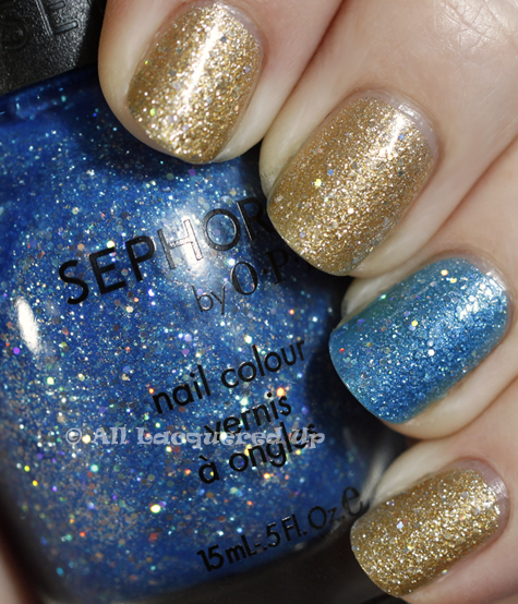 sephora by opi looks like rain dear midnight mambo swatch holiday 2010 Sephora by OPI Looks Like Rain, Dear & Midnight Mambo
