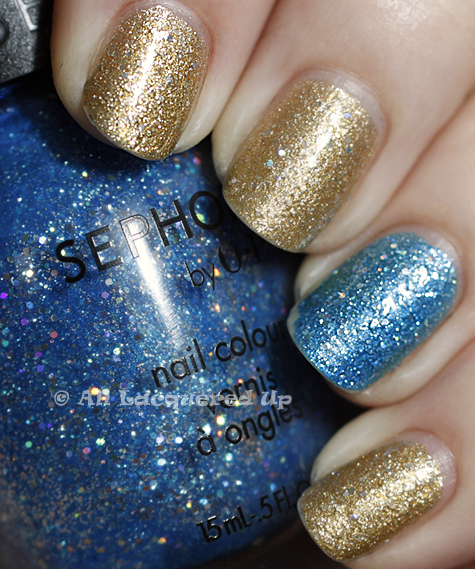 sephora by opi looks like rain dear midnight mambo swatch wear Sephora by OPI Looks Like Rain, Dear & Midnight Mambo