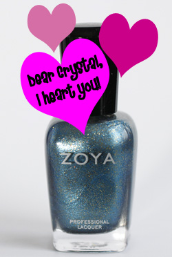 zoya crystal flame collection holiday 2010 Current Obsession   Zoya Crystal Nail Polish