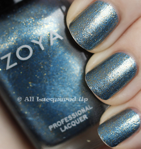 zoya crystal swatch flame holiday 2010 1 Current Obsession   Zoya Crystal Nail Polish