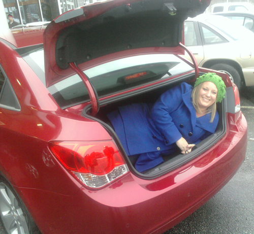 chevy cruze gotta love chevy neo katrina trunk Im A Northeast Ohio Chevy Girl