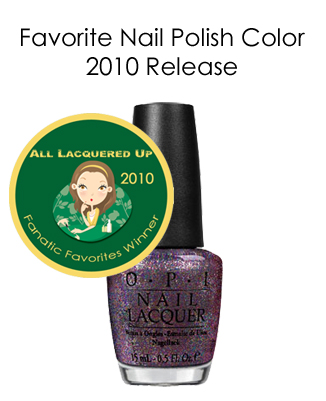 fanatic favorite color 2010 opi mad as a hatter All Lacquered Up Fanatic Favorites 2010   Winners