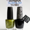 OPI Glam Slam with Serena Williams – Simply Smashing & Black Shatter Swatches & Review