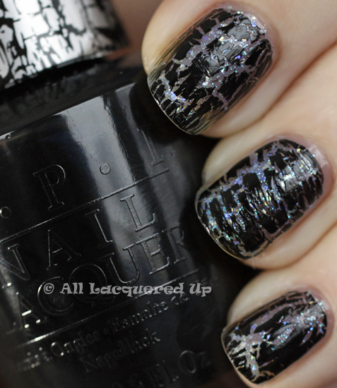 opi last friday night black shatter swatch katy perry OPI Katy Perry Collection Swatches & Review