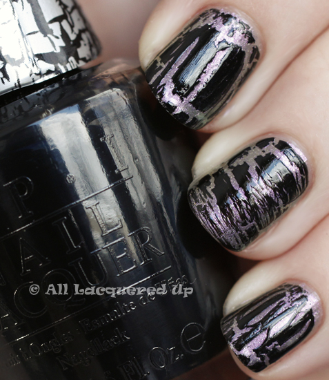 opi not like the movies swatch black shatter katy perry OPI Katy Perry Collection Swatches & Review