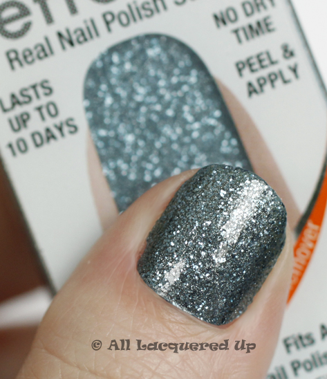 sally hansen salon effects blue ice Sally Hansen Salon Effects Nail Polish Strips Review