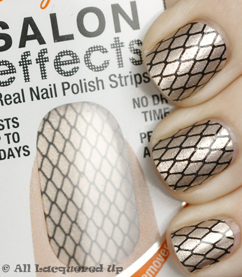 sally hansen salon effects misbehaved nail polish strips Sally Hansen Salon Effects Nail Polish Strips Review