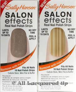 sally hansen salon effects raise a glass wicked bamboo Sally Hansen Salon Effects Nail Polish Strips Review