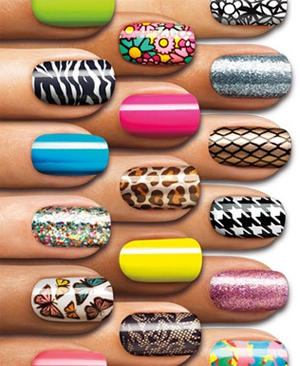 sally hansen salon effects real nail polish strips Sally Hansen Salon Effects Nail Polish Strips Review