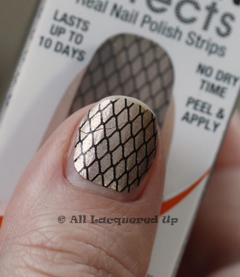 Sally Hansen Salon Effects Nail Polish Strips Review All Lacquered Up