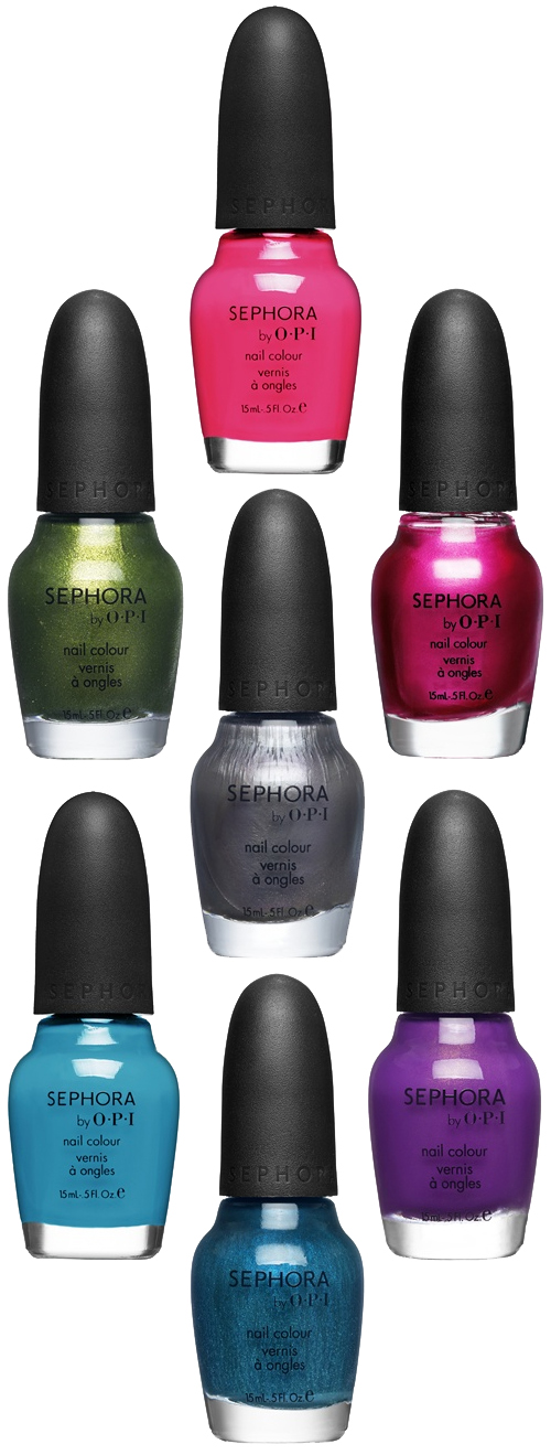 sephora by opi glee gleek chic collection nail polishes Calling All Gleeks The Sephora by OPI GLEE Collection is Coming!