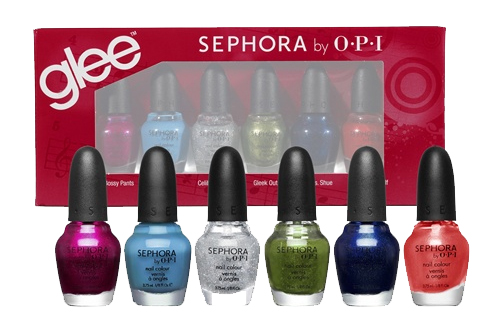 sephora by opi gleek chic mini set glee collection Calling All Gleeks The Sephora by OPI GLEE Collection is Coming!