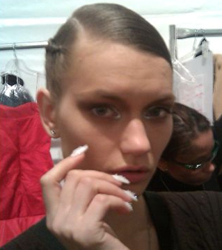 Irina Shabayeva nyfw mbfw cnd nails CND at New York Fashion Week   Day 1 Giveaway