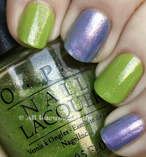bowling ball lime lavender manicure 1 Were Gonna Rock, Were Gonna Roll, Were Gonna Bop, Were Gonna BOWL...