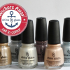 China Glaze Anchors Away Spring 2011 Collection – Sand & Sea Swatches & Review