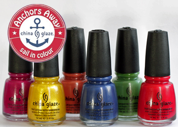 china glaze anchors away spring 2011 nail polish collection knotty nauticals