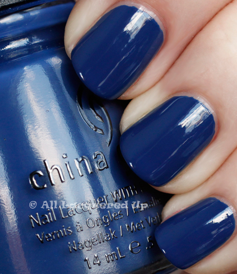 china glaze first mate swatch anchors away spring 2011 1 China Glaze Anchors Away Spring 2011 Collection   Knotty Nauticals Swatches & Review