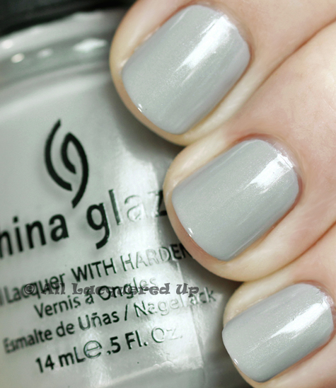 china glaze pelican gray anchors away spring 2011 China Glaze Anchors Away Spring 2011 Collection   Sand & Sea Swatches & Review