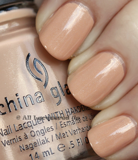 china glaze sunset sail swatch anchors away spring 2011 China Glaze Anchors Away Spring 2011 Collection   Sand & Sea Swatches & Review
