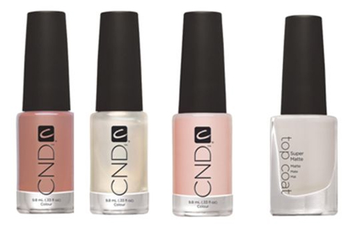 cnd giveaway day 1 polishes CND at New York Fashion Week   Day 1 Giveaway
