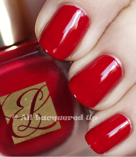 estee lauder pure red swatch pure color nail lacquer spring-2011
