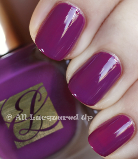 estee lauder purple passion swatch pure color nail lacquer spring 2011