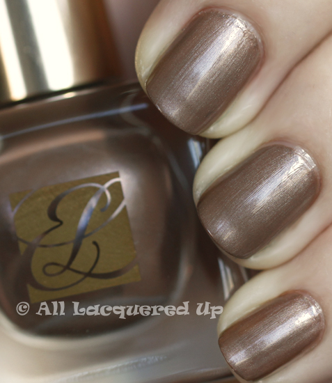 estee lauder sizzling taupe swatch pure color nail lacquer spring 2011