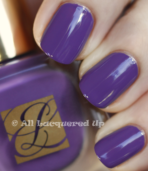 estee lauder violet diva swatch pure color nail lacquer spring 2011