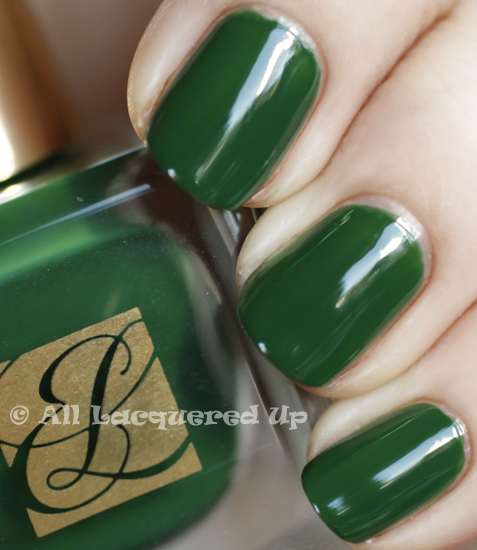 estee lauder wicked green swatch pure color nail lacquer spring 2011
