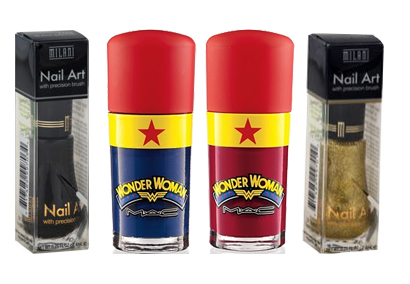 mac wonder woman nail art milani nail art MAC Wonder Woman Obey Me & Spirit of Truth Swatches, Review & Nail Art?
