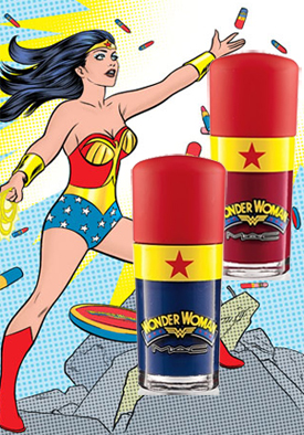 mac wonder woman nail polish nail art MAC Wonder Woman Obey Me & Spirit of Truth Swatches, Review & Nail Art?