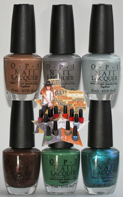 opi texas collection spring 2011 OPI Texas Collection for Spring/Summer 2011   Creme & Shimmer Swatches, Review & Comparisons