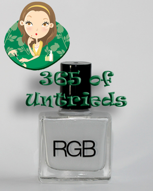 rgb dove nail polish bottle 365 untried rgb cosmetics